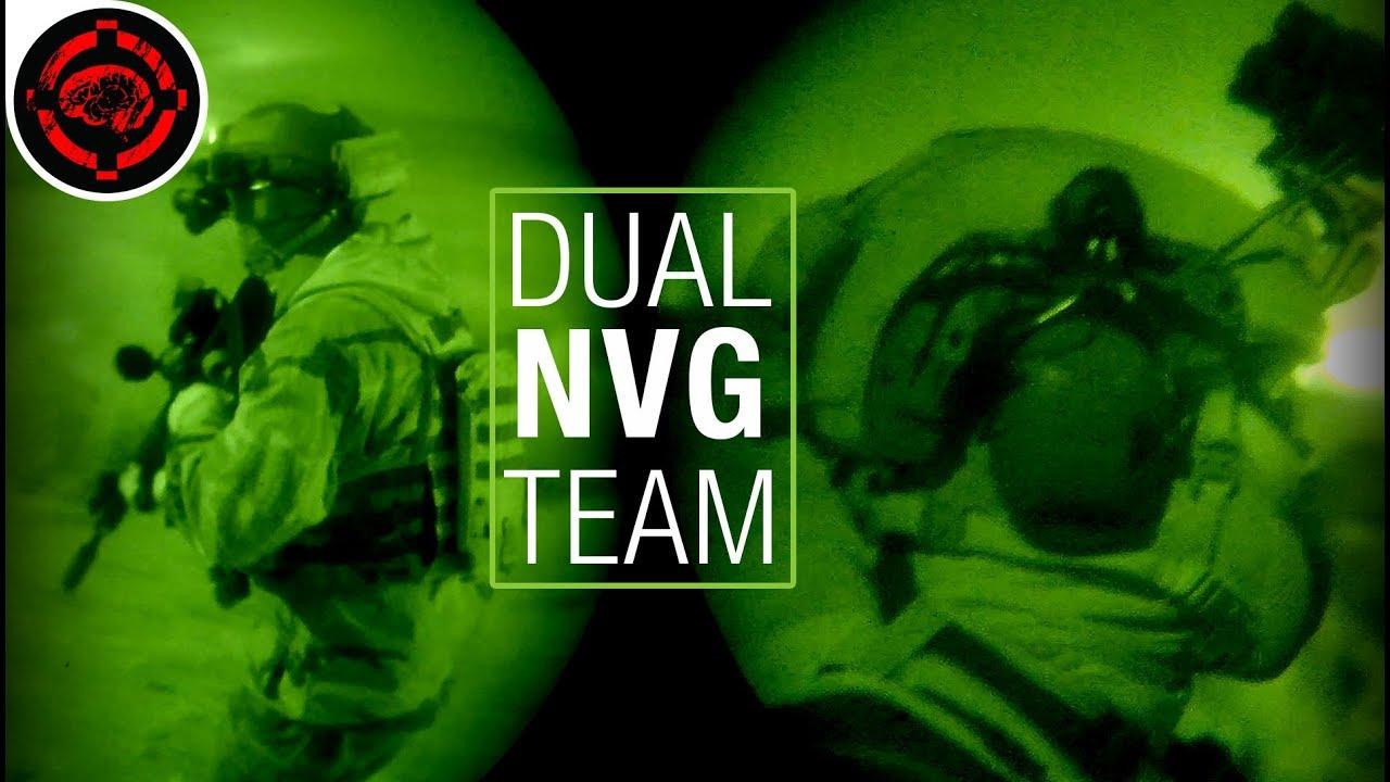 Meilleur gameplay de vision nocturne Airsoft (2 Man Nod Squad)