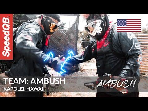 Équipe d'airsoft Team Ambush de Kapolei, Hawaii 🌺   Pleins feux sur SpeedQB