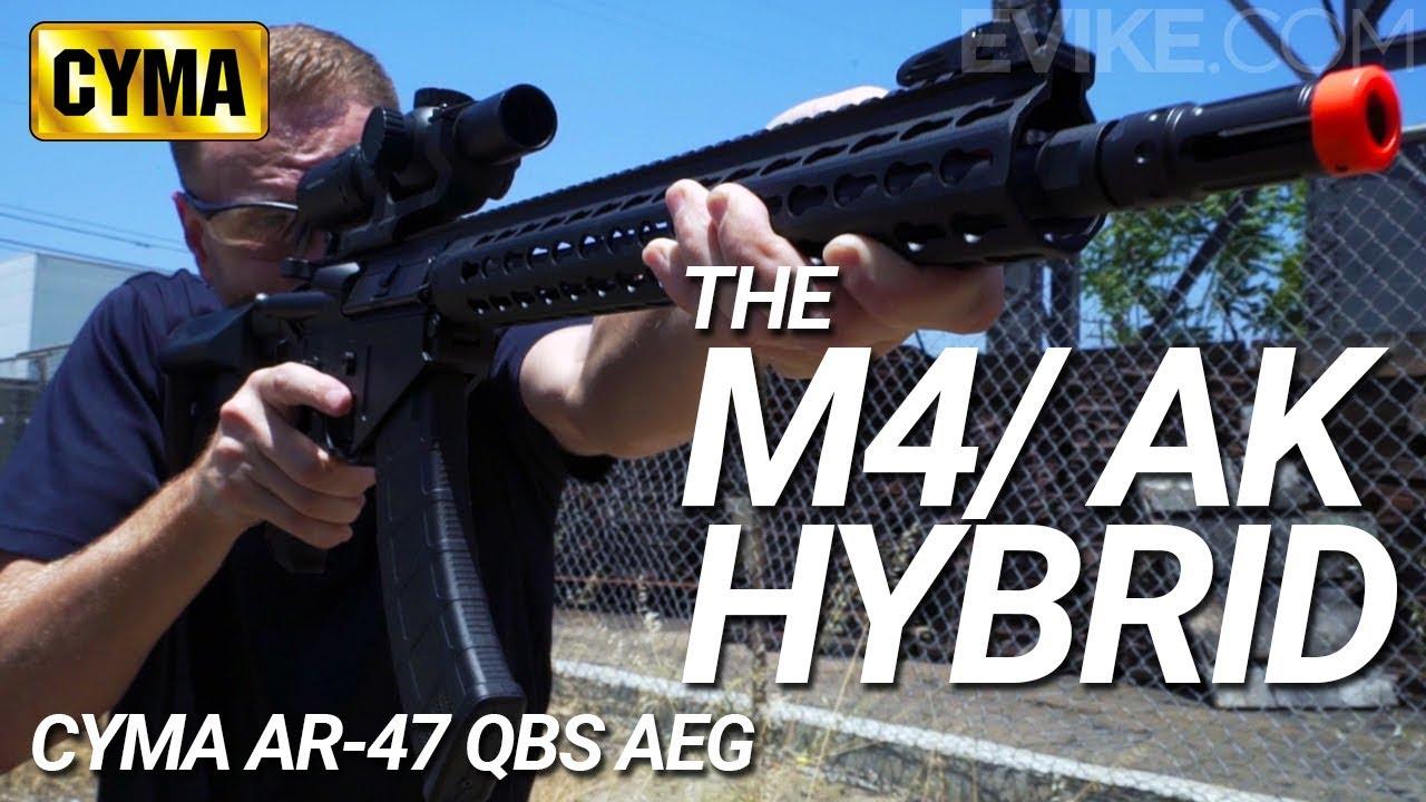 Le M4 / AK Hybrid – CYMA AR 47 QBS – Airsoft Review