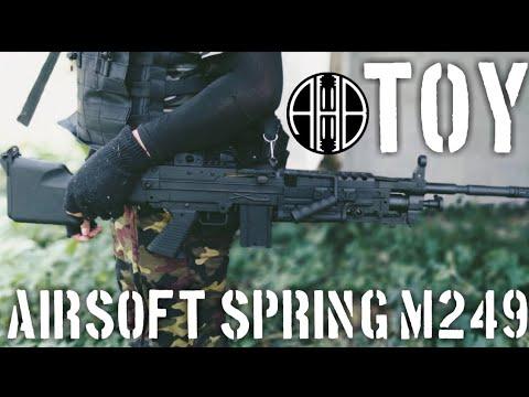 Test du Airsoft Spring M249 Tianwen