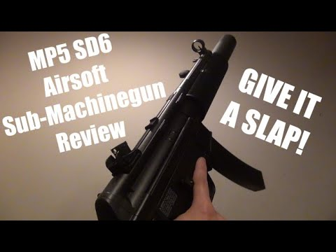 Elite Force MP5 SD6 | Examen des mitrailleuses Airsoft