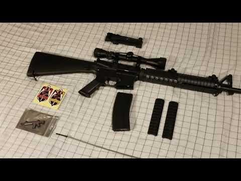Examen du fusil Airsoft Lancer Tactical LT-22B AEG