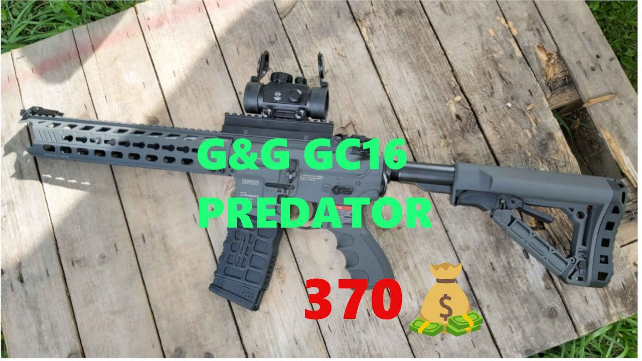 G&G GC16 Predator Review // AIRSOFT