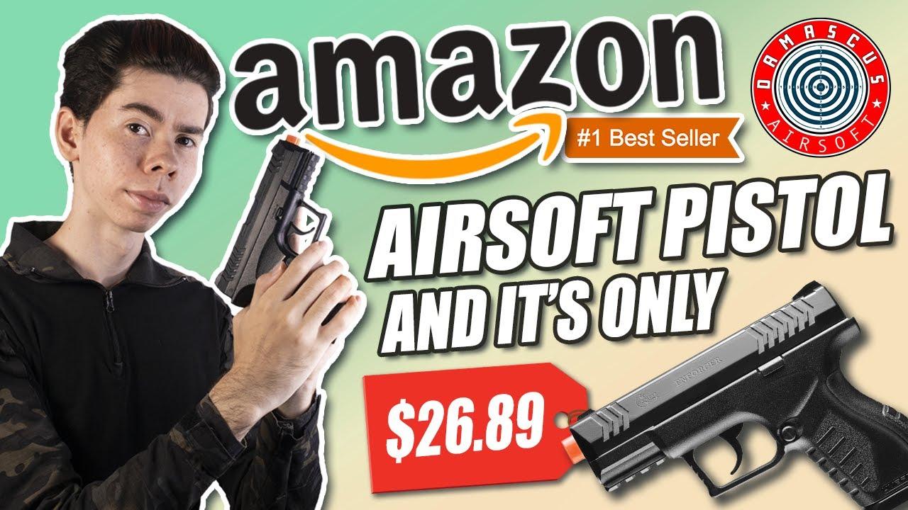 Pistolet Airsoft le plus vendu d'Amazon! – Est-il bon?