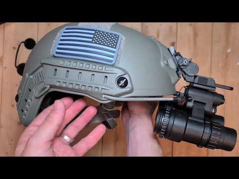 Casque balistique tactique Airsoft NVG / NightVision