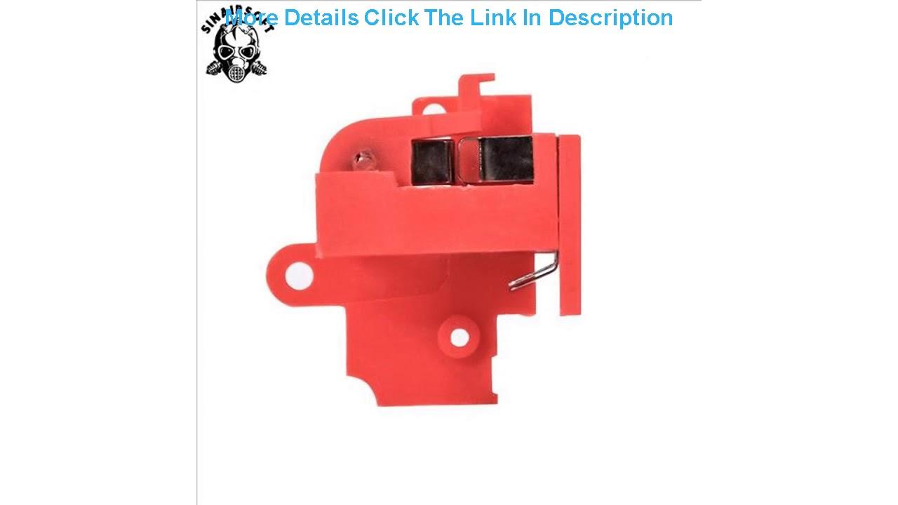Examen interrupteur de résistance thermique SHS pour pistolet électrique Airsoft boîte de vitesses AEG Version 2 accessoire de chasse