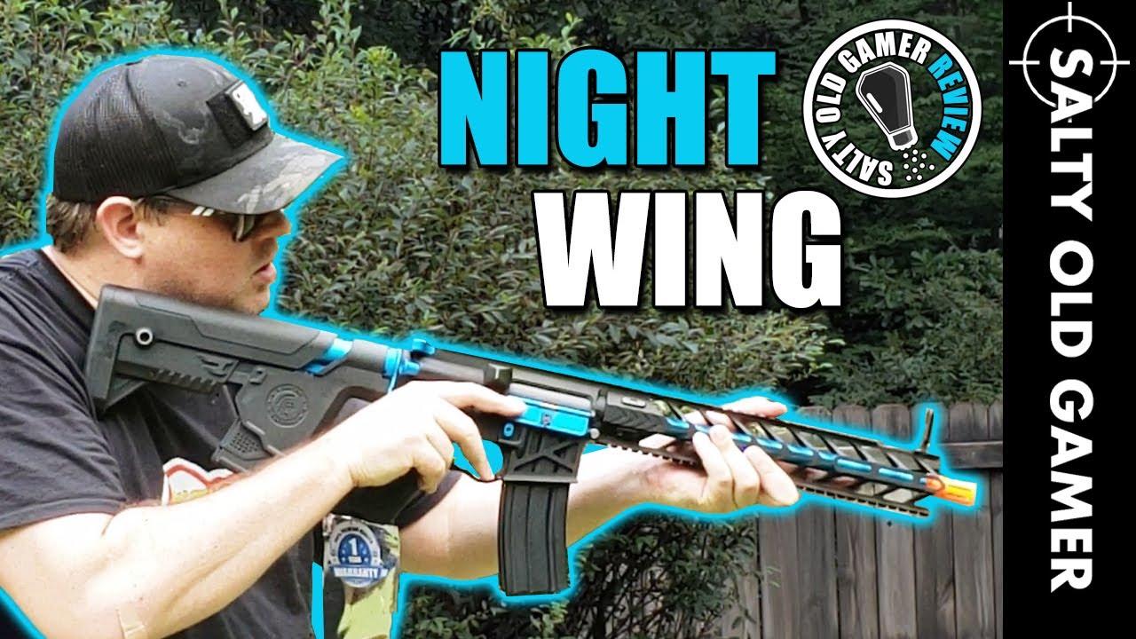 Squelette Alpha Enforcer Night Wing | Critique de SaltyOldGamer Airsoft