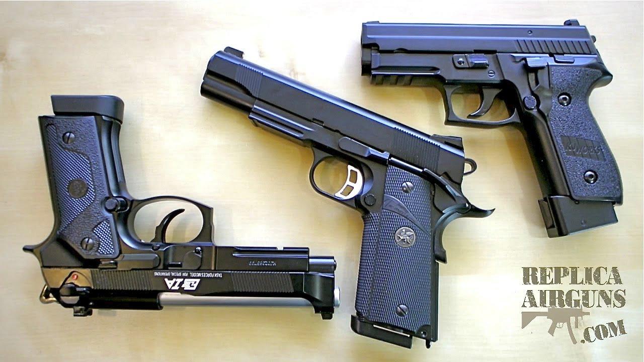 Revue du pistolet KJWorks KP-02, KP-07, Elite 1A Airsoft
