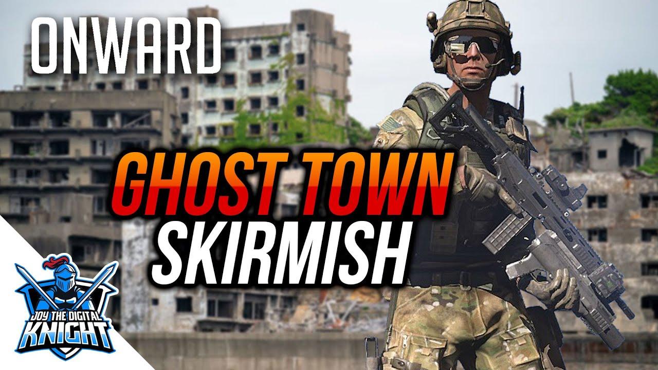 Guerre dans la ville fantôme | Airsoft virtuel [English]