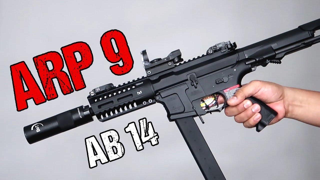 Gun bisous pistolet | G&G ARP 9 | Déballage et examen
