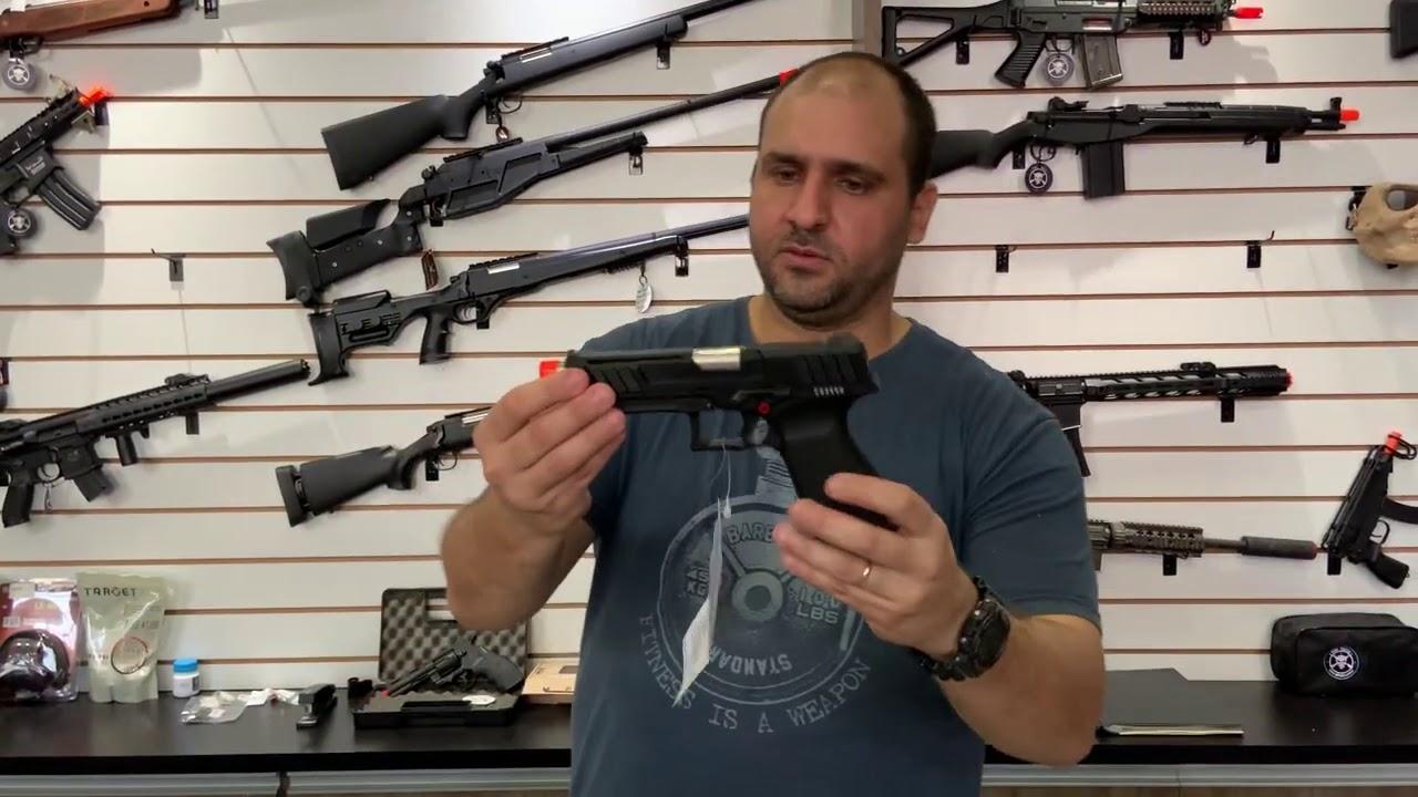 Évaluer Airsoft Pistol GTP9 G&G