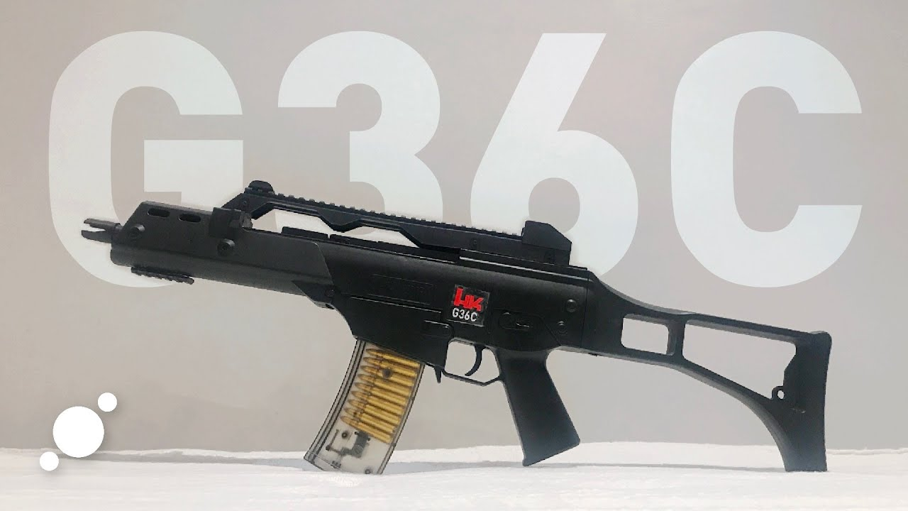 G36C Spring Type Airsoft Review et Unboxing (Lazada) PHP 699 / USD 14 | Conception Heckler et Koch.