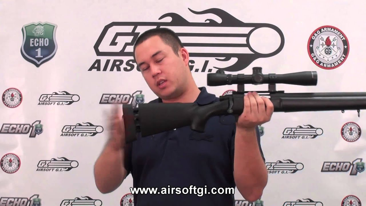 Airsoft GI – Javelin Gun Works M24 Airsoft Sniper Rifle Review