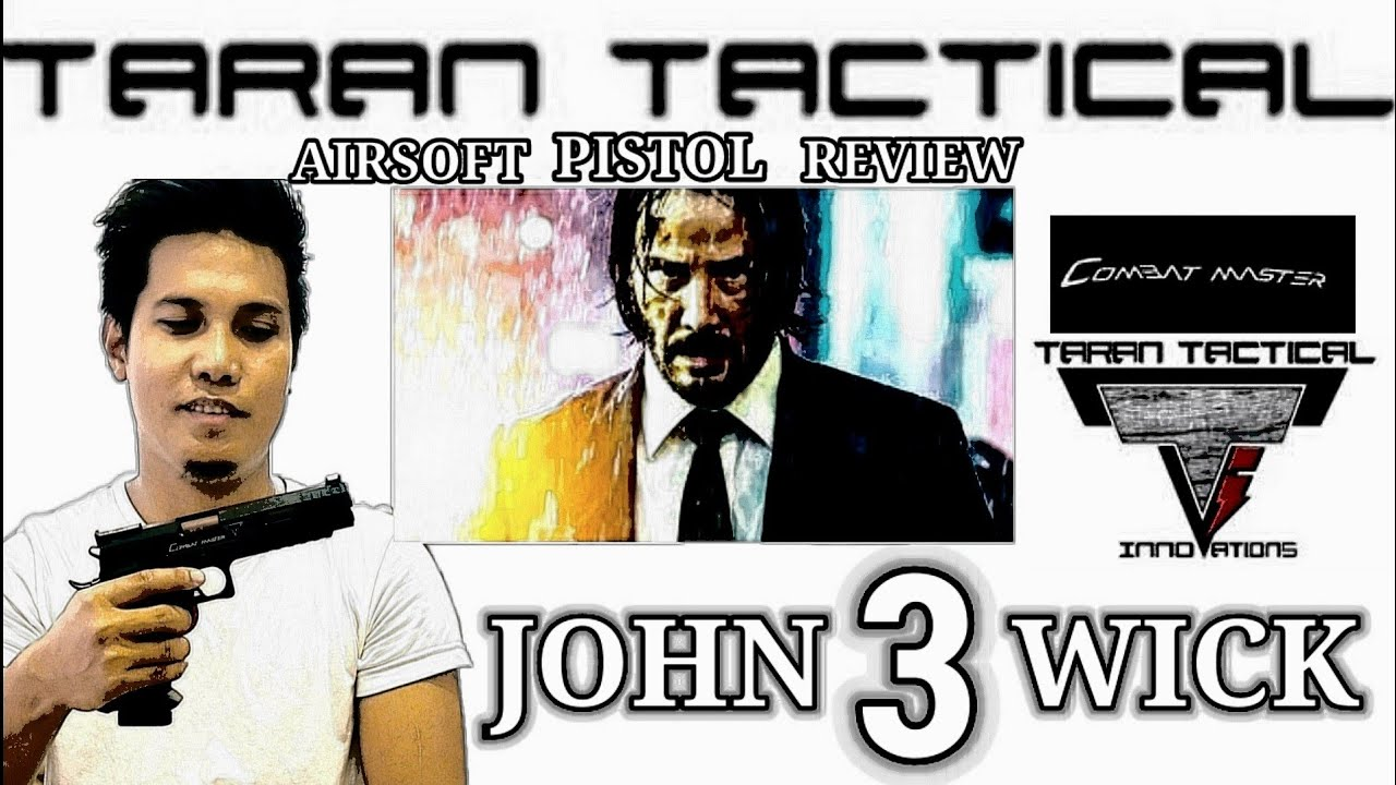 """COMBAT MASTER TTI """"JOHN WICK 3"""" GASTYPE AIRSOFT AIRSOFT REVIEW 