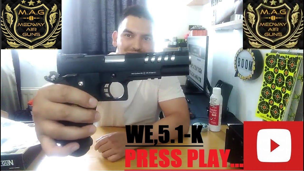 REVIEW👍WE 5.1-K AIRSOFT GUN, JE GAGNE LE CADEAU👍🤠