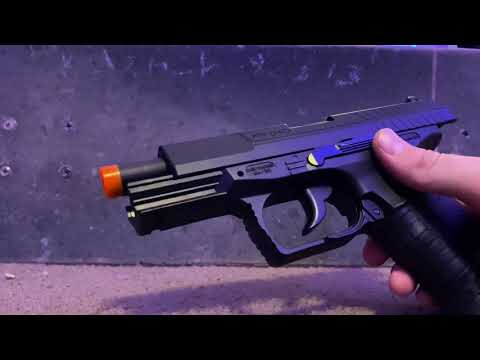 Revue Airsoft du pistolet Walther P99 DAO Co2 Blowback