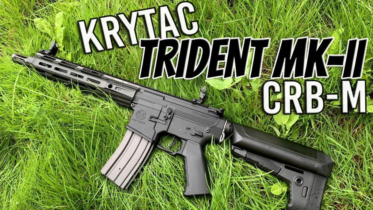 "Krytac Trident MK-II CRB-M | MEILLEUR PISTOLET ""OUT OF THE BOX""?! | Airsoft Unboxing et examen"