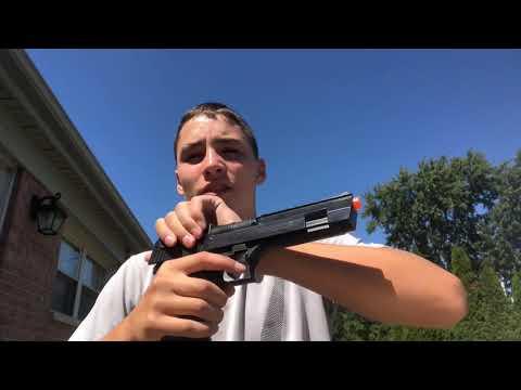 Examen du pistolet Airsoft Desert Eagle