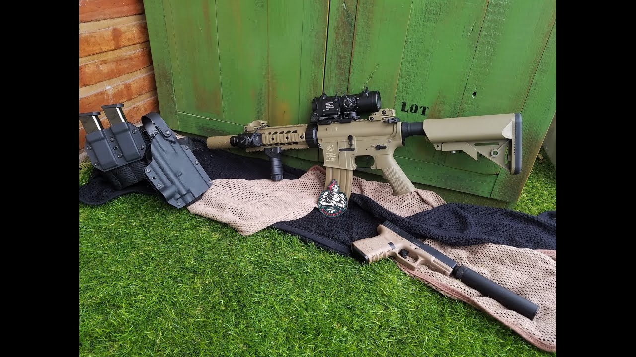 Équipe Knights Airsoft – Colt M4 Silent Ops sous licence Cybergun Review