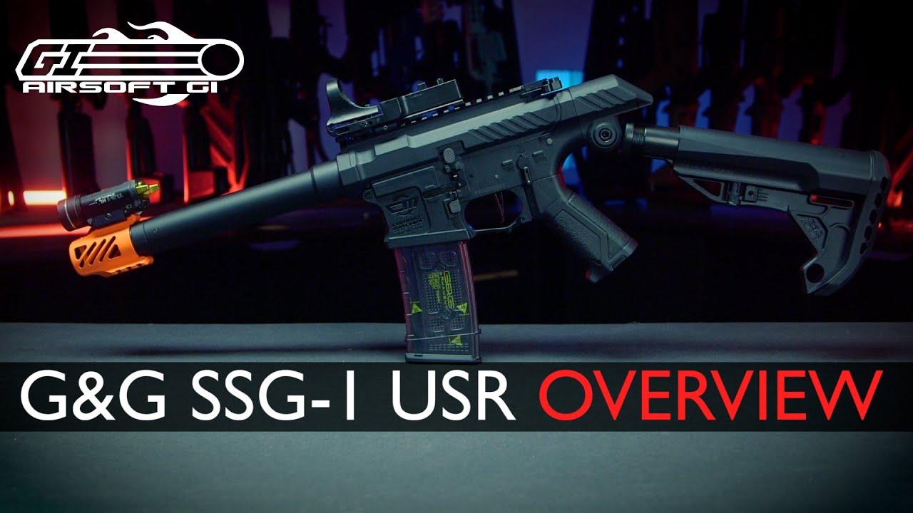 PAINTBALL ENVASSE AIRSOFT?! – Carabine G&G SSG-1 USR Airsoft | Airsoft GI