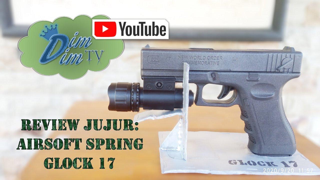 Examen honnête: Glock 17 Airsoft Spring