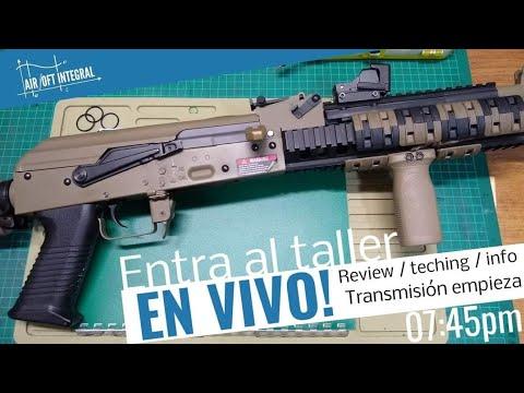 JG Full Metal AK47 Dynamic Tactical RIS examen complet interne, externe et de démontage.