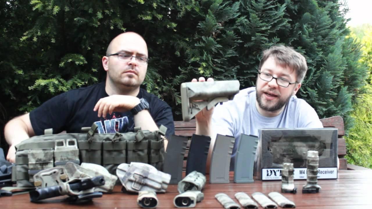 SCDTV Review Division – Accessoires A-Tacs Airsoft de Dytac