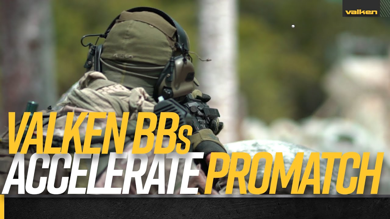 Valken Accelerate ProMatch Airsoft BB avec TAPP Airsoft