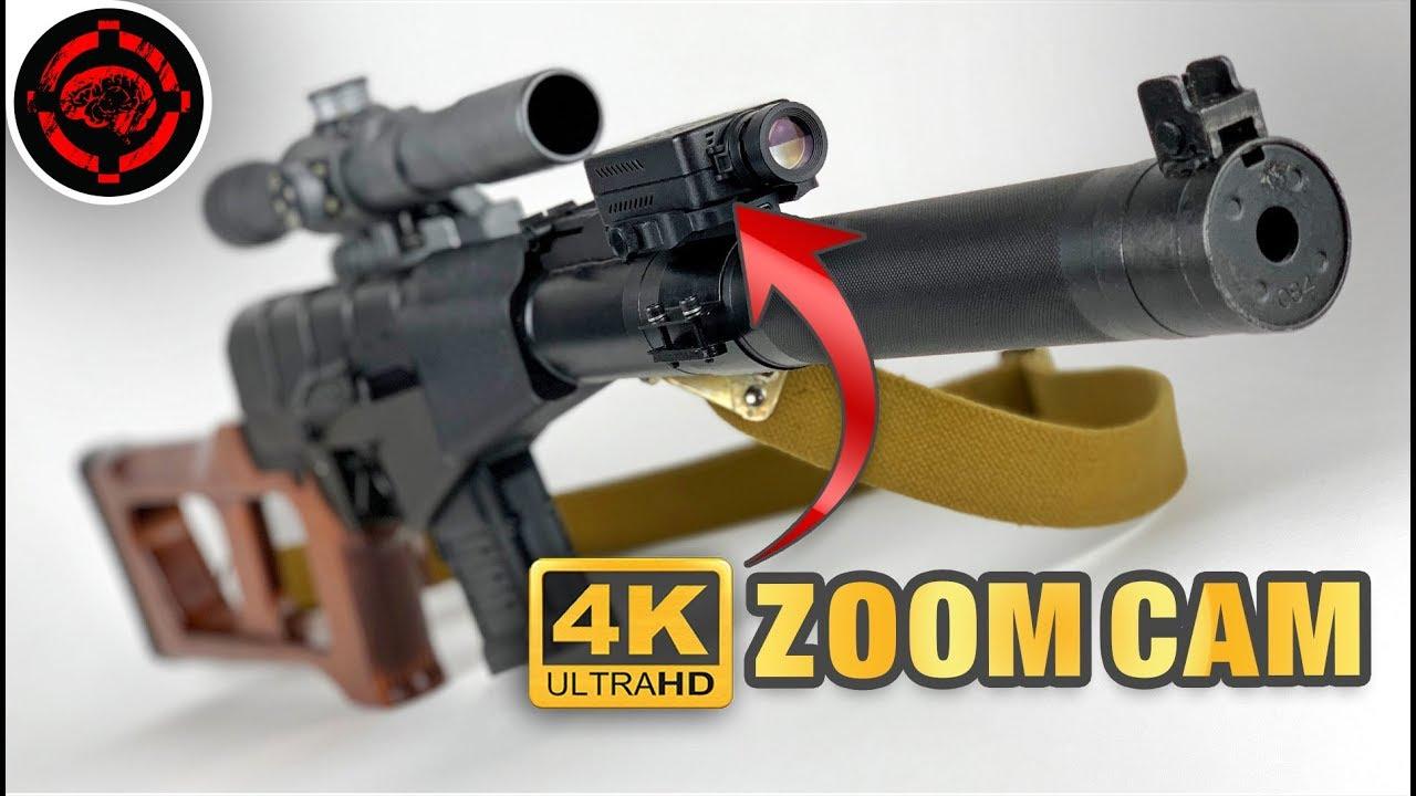 Cela va changer les gameplays Airsoft |  Caméra zoom 4k + nouveau support