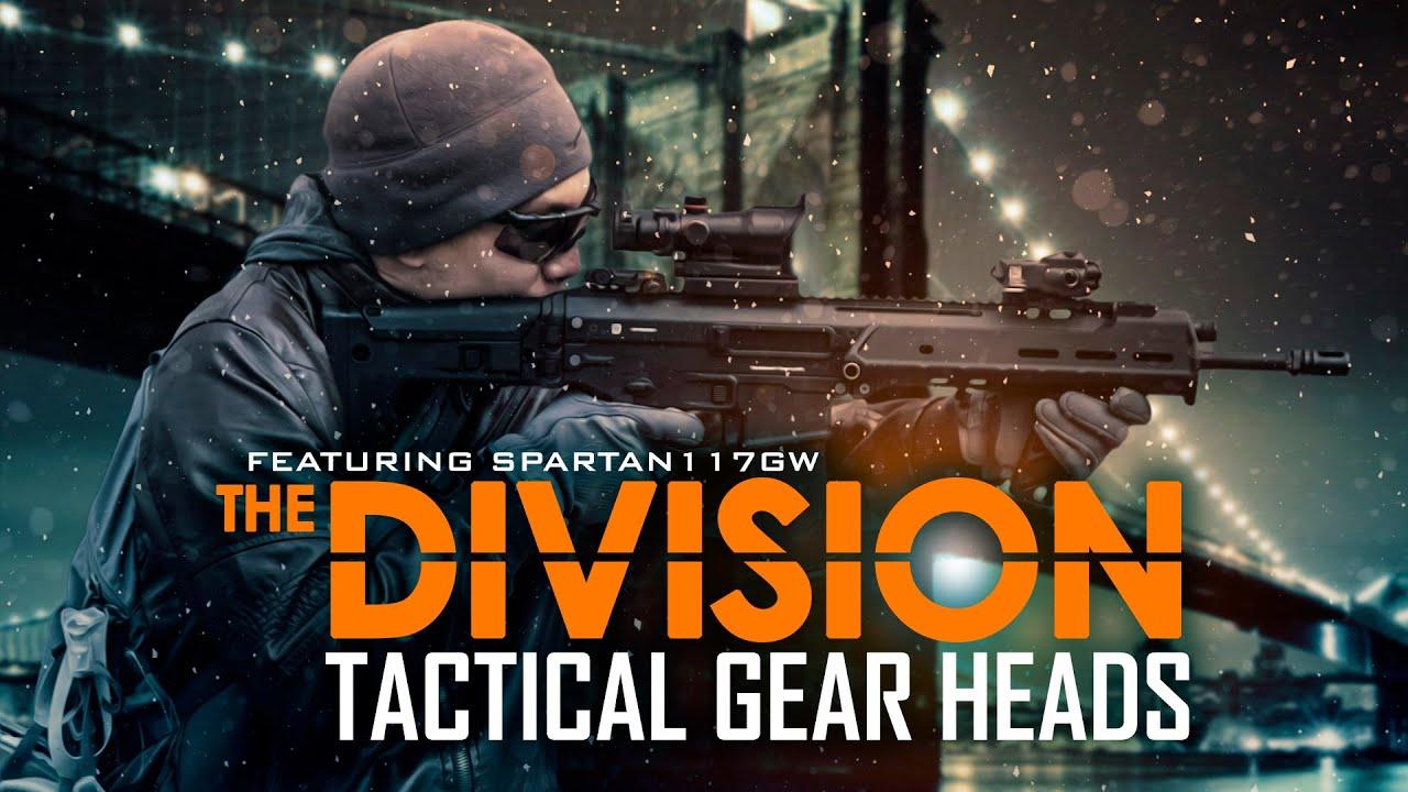 La Division |  Têtes d'équipement tactique – Airsoft GI