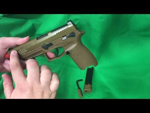 Pistolet airsoft SIG !!  M17