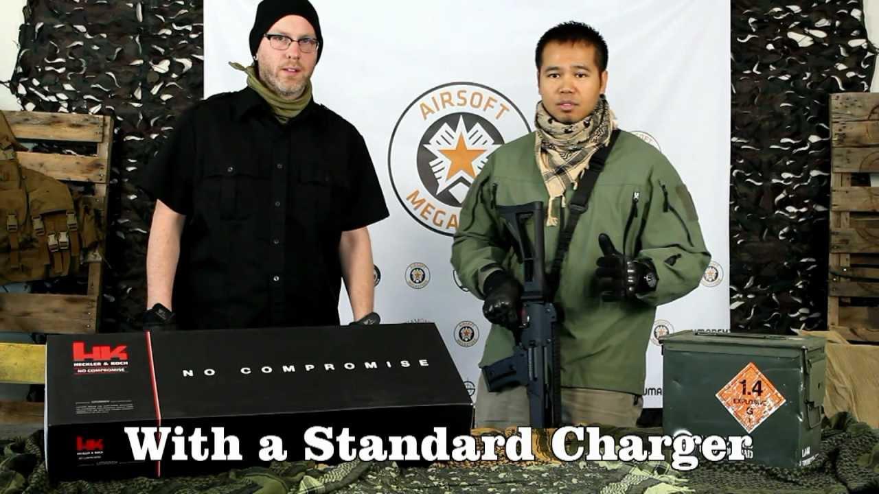 Examen du fusil AEG Blowback UMAREX ARES H&K G36C