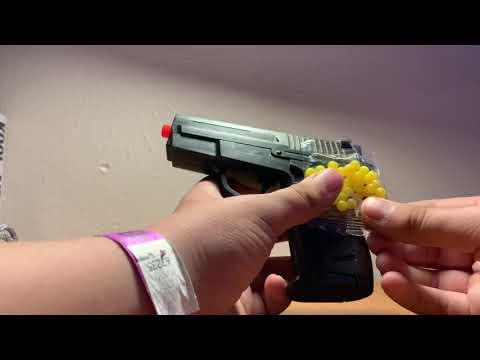 PISTOLET AIRSOFT À 3 DOLLARS!  UKARMS P618BAG Revue du pistolet à ressort + test de tir!
