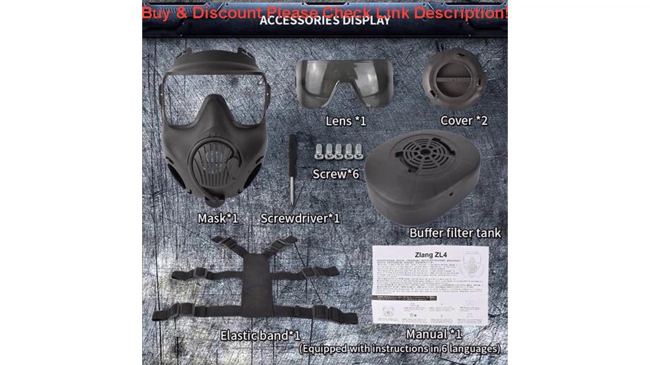 Évaluer AIRSOFTA Airsoft Paintball Masque Ventilateur Unique Anti-Brouillard Masque De Protection Respirant Tactique BB G