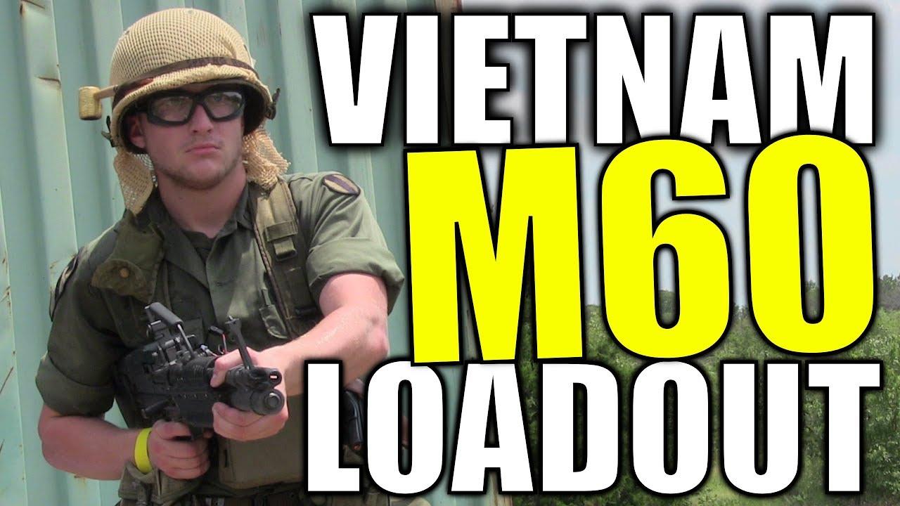 Équipement de la guerre du Vietnam M60 Airsoft – Rolling Thunder 2