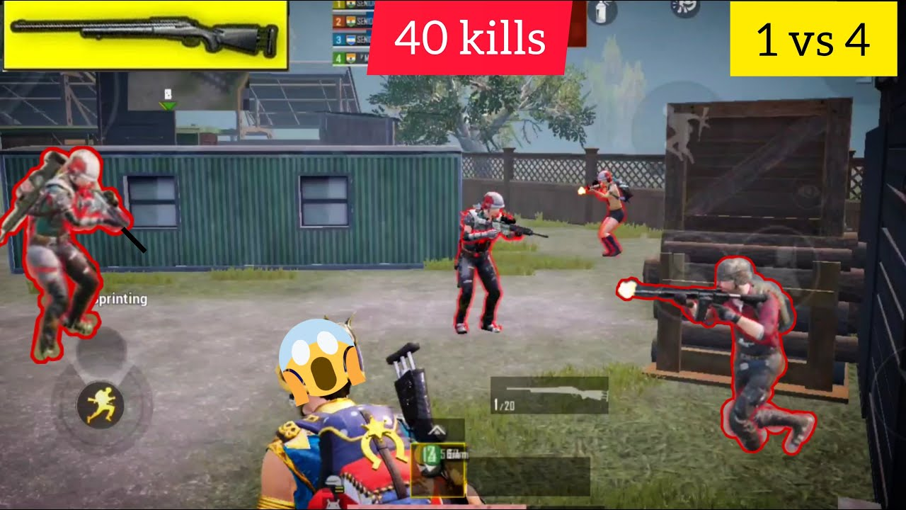 J'ai eu 40 victimes dans Tdm |  Gameplay M24 |  pubgmobile