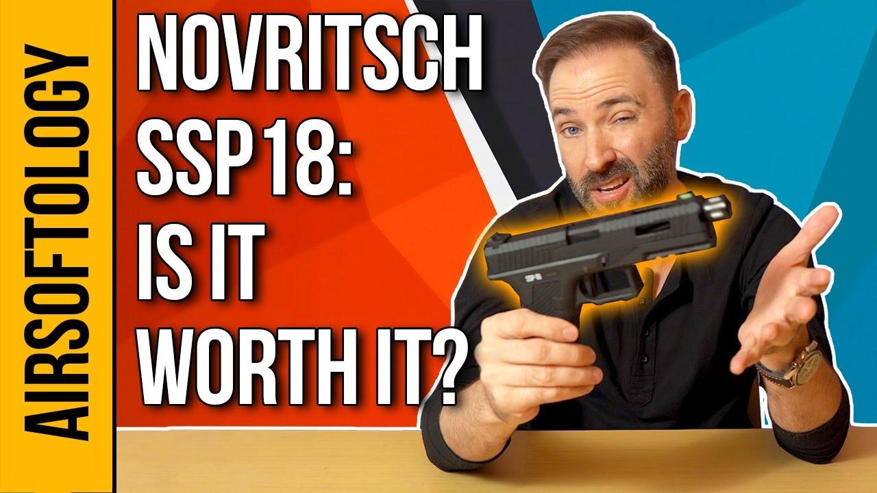 Est-ce bien?  Revue de déballage du pistolet FULL AUTO Novritsch SSP18 Airsoft