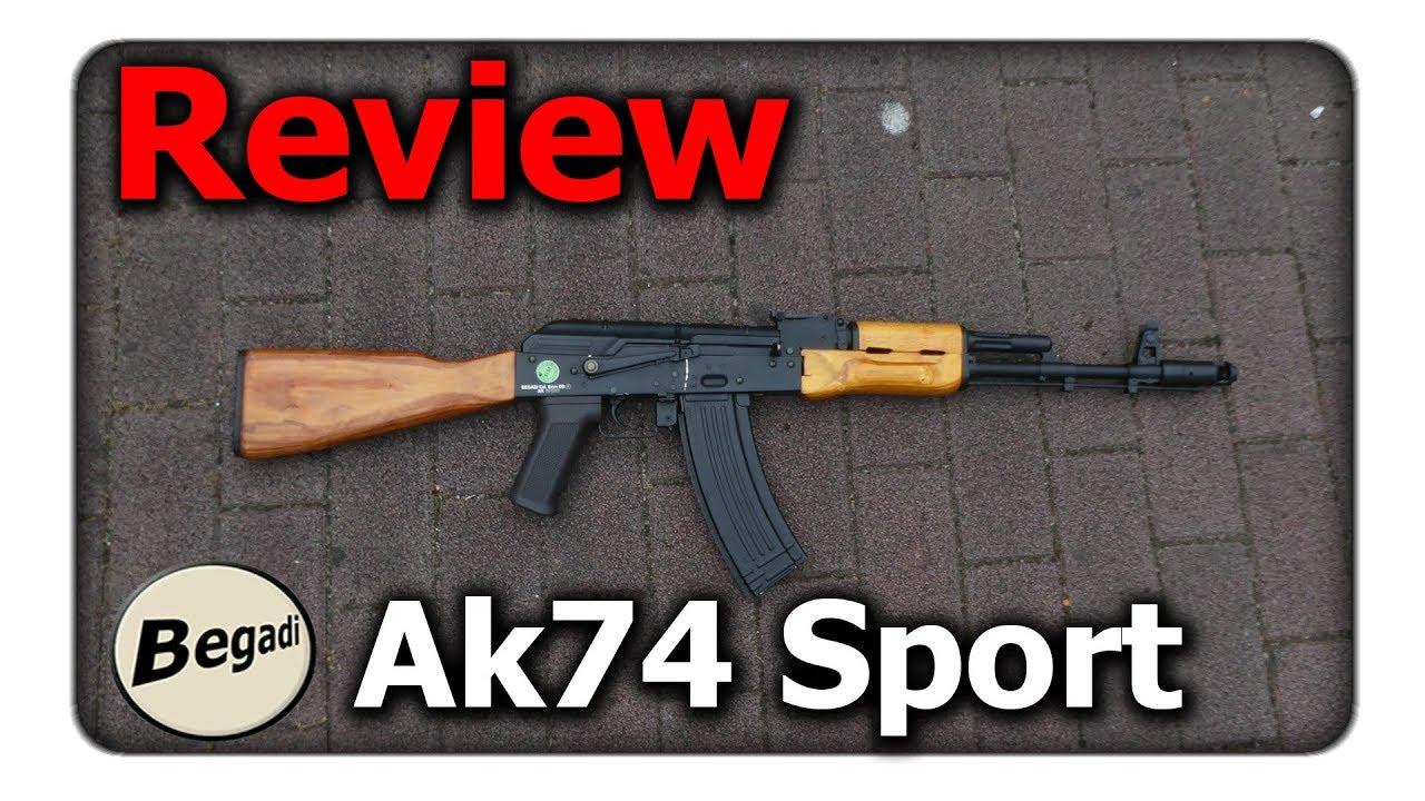 [Review] Begadi AK 74 Sport Echtholz Variante (AEG / S-AEG) ||  Q-Airsoft