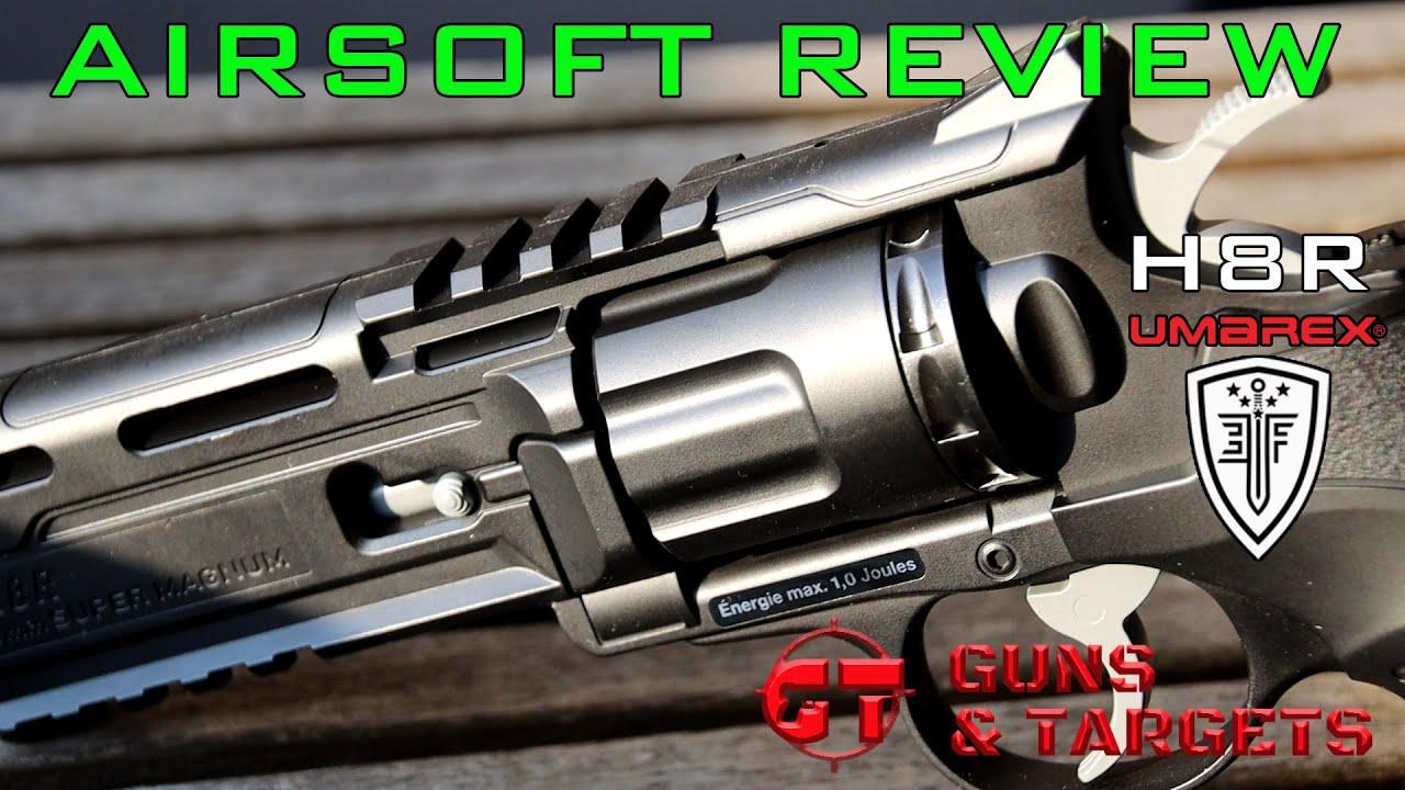 Airsoft Review # 16 H8R Gen2 Co2 ELITE FORCE / UMAREX (ARMES ET CIBLES)