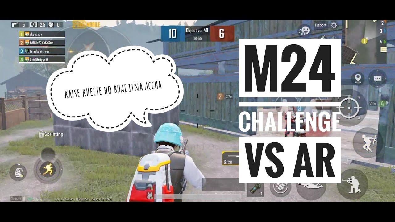 Pubg mobile tdm m24 Montage |  trucs et astuces |  saison 15 | gameplay M24 | sksnazzy