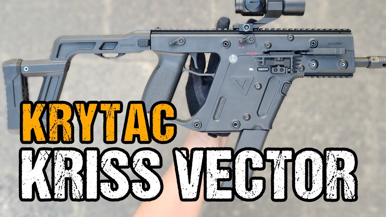 Krytac Kriss Vector Airsoft Review et Unboxing allemand