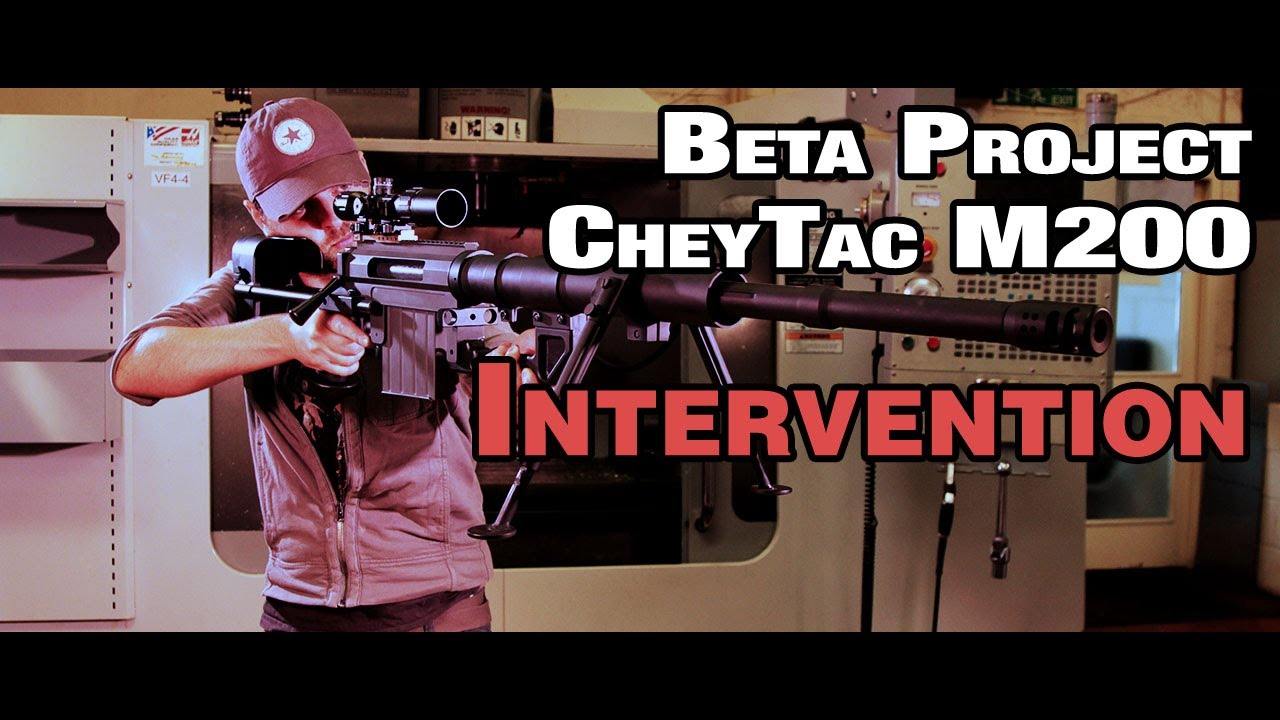 Intervention M200 Airsoft Beta Project Review & Range Test – EpicAirsoftHD