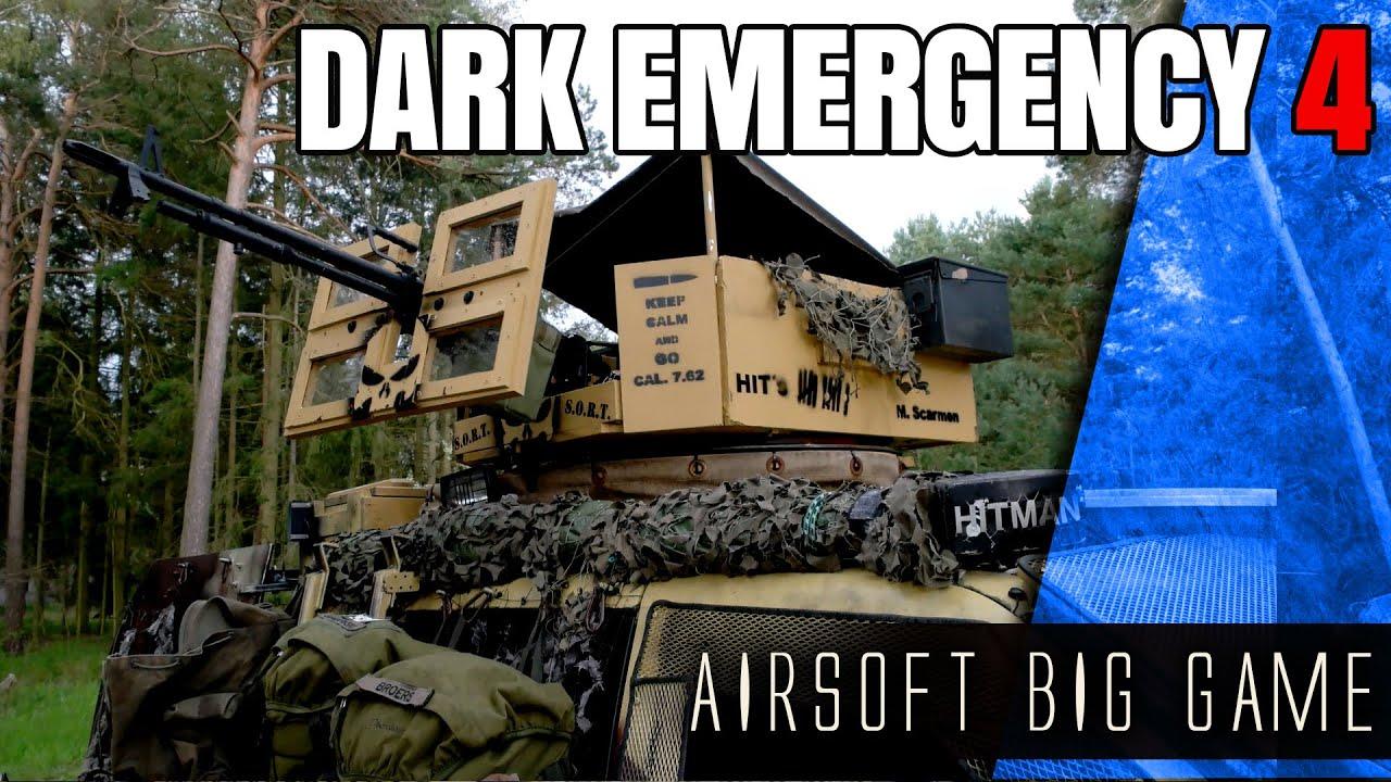 Dark Emergency 4 GRAND JEU GERMAN AIRSOFT
