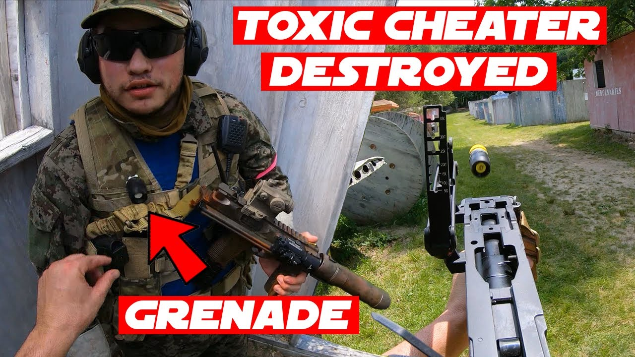 "Airsoft ""Lance-grenades uniquement"" Gameplay!  (RONDES EXPLOSIVES)"