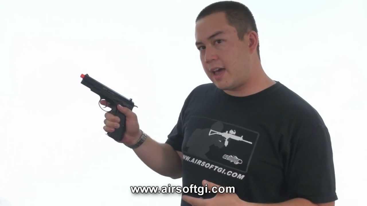 Airsoft GI – Pistolet à gaz KWA KZ75
