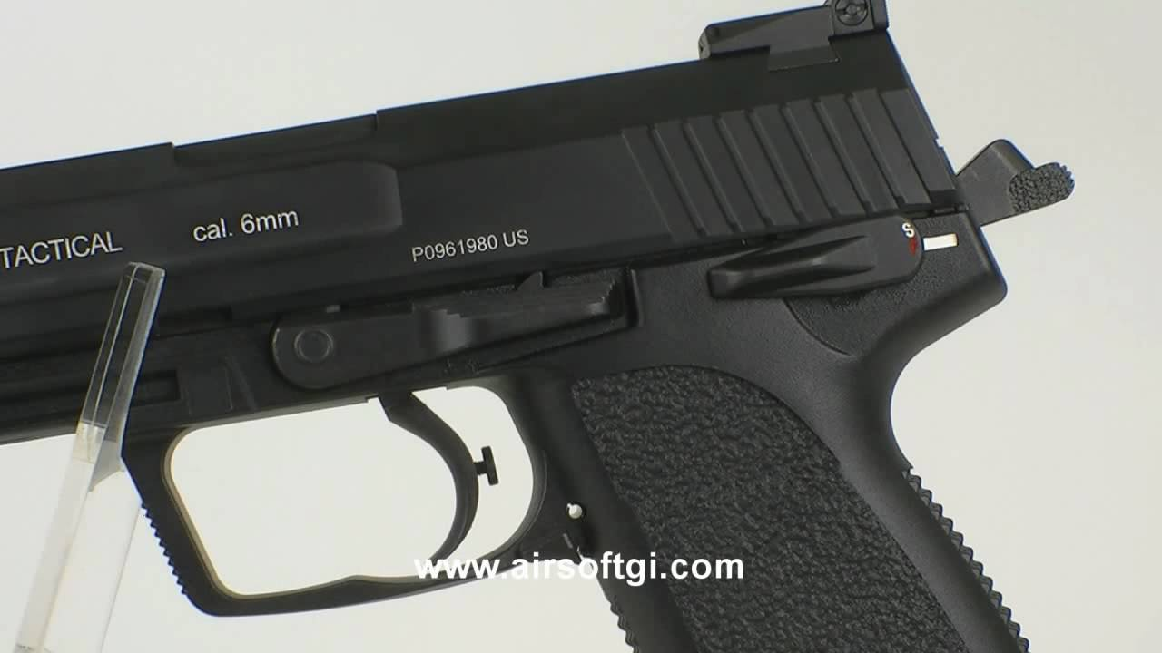 Airsoft GI – POUR pistolet à gaz tactique KP45