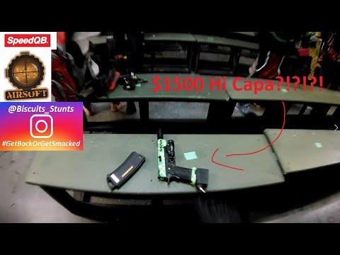 Cher 1500 $ Hi Capa SpeedQB Gameplay Team DSG chez SS Airsoft