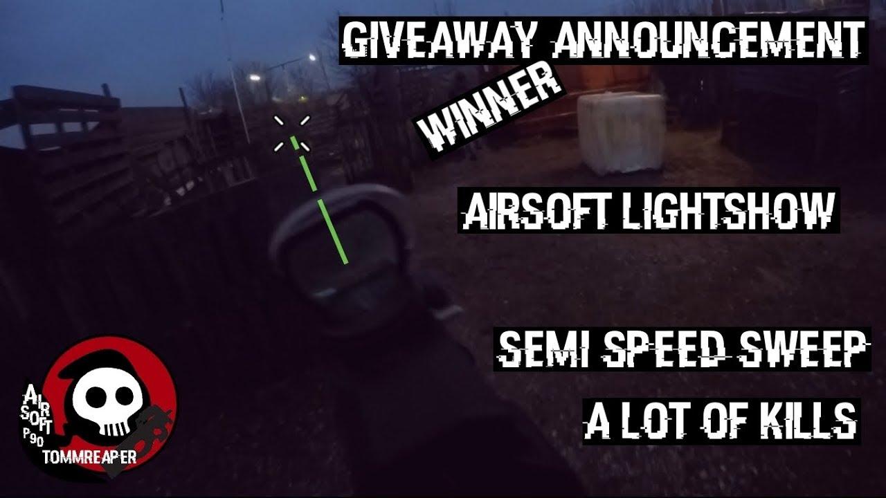 Première vidéo airsoft de 2K18 feat.  Airsoft P90 avec un traceur [Gameplay]