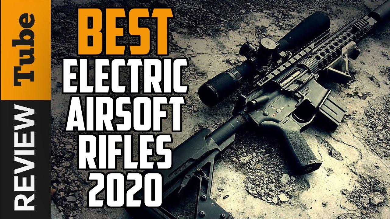 ✅Airsoft Rifle: Meilleurs fusils électriques Airsoft 2019 (Guide d'achat)