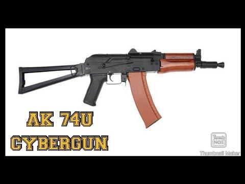 AKS 74U CYBERGUN AIRSOFT FULL METAL: DÉBALLAGE, EXAMEN ET 3 CONSEILS SENSATIONNELS!